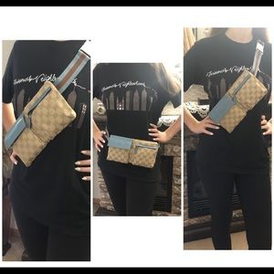 Gucci Bags - Authentic Gucci Monogram Fanny Pack